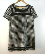 Anthropologie 9-H15 StCL Size L Black and White Patterned Dress