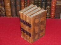 MADAME DE GENLIS / LES VEILLEES DU CHATEAU Cplet 4/4 Relié 1826 Education morale