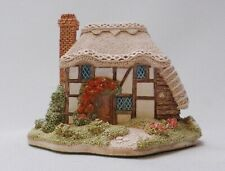 Lilliput Lane Strawberry Cottage + Original Box and Deeds - Handmade in England
