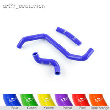 Fit Can-Am Bombardier DS650 2000-2007 ZAP RADIATOR SILICONE HOSE Kits Blue
