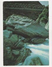 Gates Of Haast Bridge Postcard New Zealand 582a