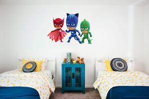 PJ Masks wall decal *LARGE* Free Canada shipping