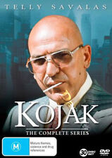 Kojak - Complete Series NEW PAL Classic 30-DVD Boxset Telly Savalas