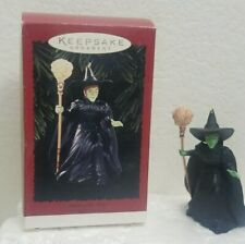 Hallmark Keepsake Witch Of The West Ornament Wizard Handcrafted New 1996
