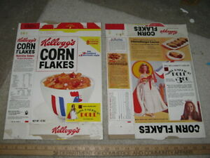 cereal box KELLOGGS 1973 MISS AMERICA Terry Anne Meeuwsen DOLL Mattel Barbie
