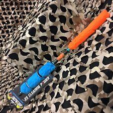 New Hk Army Blade Paintball Barrel Swab Squeegee - Orange/Teal