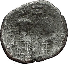 Andronicus Ii Palaeologus Michael Ix 1294Ad Assarion Rare Byzantine Coin i59530