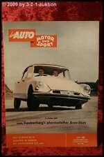 AMS Auto Motor Sport 20/56 Citroen DS 19 Zündapp Janus