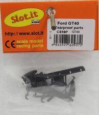 SLOT IT SICS18P FORD GT40 TEARPROOF PARTS NEW 1/32 SLOT CAR PARTS