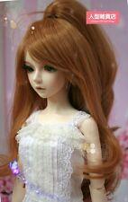 BJD Doll Hair Wig 8-9 inch 20-22cm Detachable braid 1/3 SD DZ DOD LUTS Brown