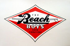 Beach Boys Logo Decal - Brian Wilson, Al Jardine