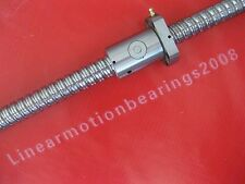 1 anti backlash ballscrew RM2510-820mm-C7 for CNC XYZ