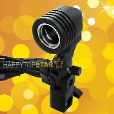 Photo Video Light Lamp Bulb Holder E27 Socket Slave Flash Swivel Bracket Studio