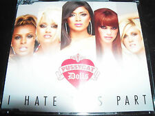 The Pussycat Dolls I Hate This Part Rare Australian CD Single - Like New