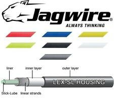 Pre-Lubed 4mm JAGWIRE Gear Outer Cable Blue,White,Red Yellow,Green,Black,Grey