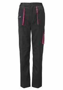 Work Kit Girl Womens - Action Trousers - Black