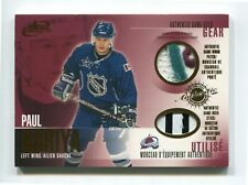 2003-04 McDonald's Pacific Patches and Sticks 50/50  Paul Kariya