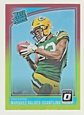2018 Donruss Optic RED YELLOW REFRACTOR PRIZM MARQUEZ VALDES-SCANTLING RC Rookie