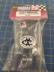 Parma 1057B Gulf Mirage .010 Retro Pro Body 1/24 Mid-America Naperville
