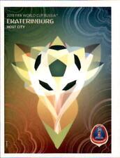 Panini WM 2018 World Cup Russia - Sticker 30 Ekaterinburg - Poster der Spielorte
