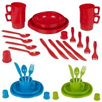26 PCS Barbecue BBQ Plastic Picnic Utensil Cutlery Set Outdoor Lunch Dinner Kit