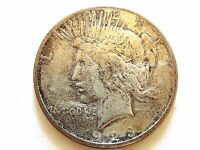 """1923-S United States Silver """"Peace Dollar"""" Coin"""