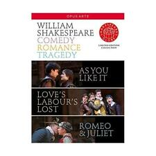 DVD - Shakespeare: Comedy Tragedy Romance [(limited edition)]