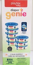 Playtex Diaper Genie Refill Bags Registry Gift Set, 8 Pack - 2160 Count