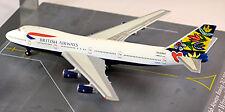 Boeing 747-200 SUECIA British Vías respiratorias 1:500 Herpa exclusivo Series