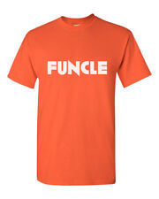 Funcle T Shirt Funny Awesome Cool Uncle Gift Idea T-Shirt Christmas Tee Birthday