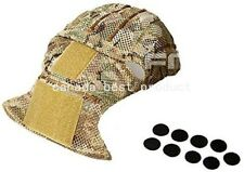 FMA Tactical Airsoft Military Combat AF/CP AirFrame Mesh Helmet Cover Multicam