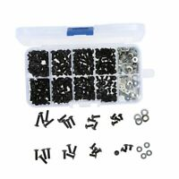 Screws Box Set for 1/10 HSP Traxxas Tamiya HPI Kyosho D90 SRC10 Remote Cont H8J2