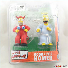 The Simpsons Good and Evil Homer (angel and devil) figures by McFarlane Toys