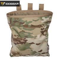 IDOGEAR Magazine Dump Pouch MOLLE Tactical Drop Pouch Recycling Bag Paintball