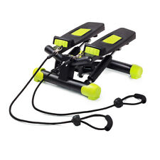 Swing Stepper mit Expander Drehstepper Sidestepper Fitness Aorobic Computer NEU