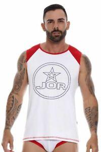 JOR 1053 Astro Tank Top Color White