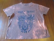 SUZI TRASH Punk Rock Band T-Shirt Size Large CREMIEUX