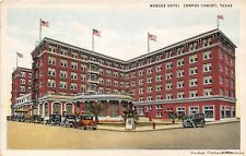 CORPUS CHRISTI TX 1928 Long Gone (demolished in 1971) Nueces Hotel Old Cars GEM+