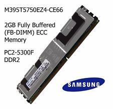 2 Go Samsung m395t5750ez4-ce66 PC2-5300F 667MHz DDR2 FBDIMM ECC SERVEUR MÉMOIRE