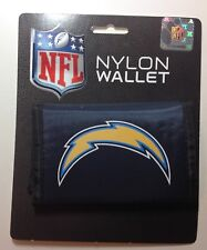 LOS ANGELES CHARGERS NYLON TRIFOLD WALLET BILLFOLD NFL LICENSED NEW