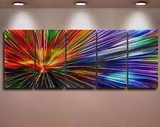 Metal Moderno Abstracto Pared Arte Pintura Original grandes obras de arte contemporáneo
