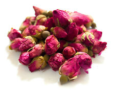 Dried Red Rose Buds, Cake Decor Tea Soap Crafts Garnishes Wedding Confetti