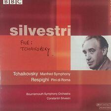 Silvestri Tchaikovsky Manfred Symphony Respighi Pini di Roma/Pines of Rome BBC