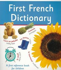 First French Dictionary: A First Reference Book for Children Paperback by DK