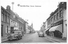 mooie postkaart, SINT-GILLIS WAAS, KRONEN HOEKSTRAAT (pk451)