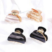 Fashion Cute Acrylic Hair Claw Square Hair Clamp Hairpin Ponytail Crab Hair Clip