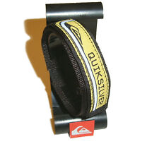 QUIKSILVER Yellow Black Watchband 20mm Surf Diver Watch Band Strap Quicksilver