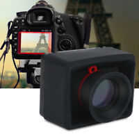 Durable 3.2inch LCD Viewfinder 3X Magnifier Accessory for DSLR Mirrorless Camera