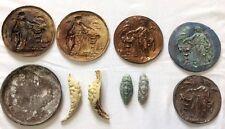Vintage Old World Roman or Greek Style Rubber Plaster Cast Molds