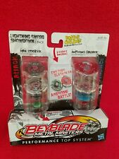 Beyblade Metal Masters RAY STRIKER BB-71A INFERNO GASHER B-114 Hasbro